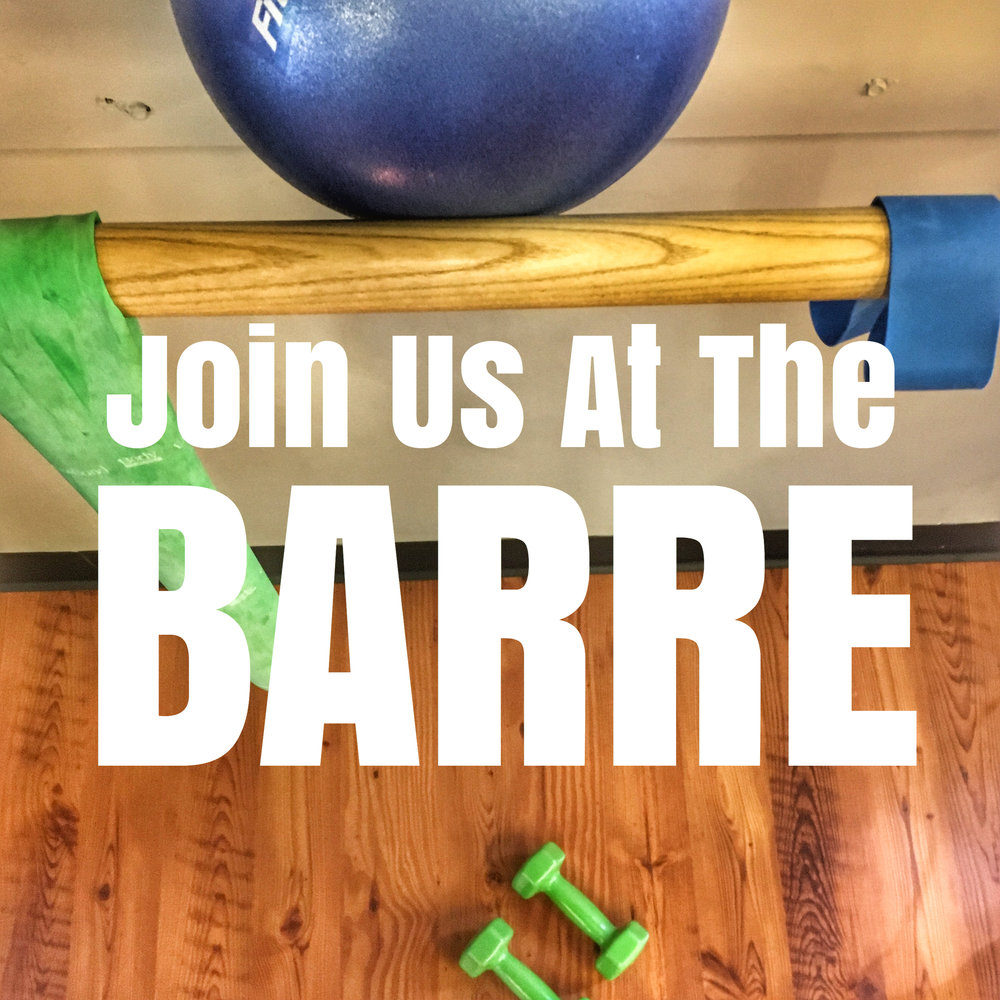 Barre Training at Live Fit