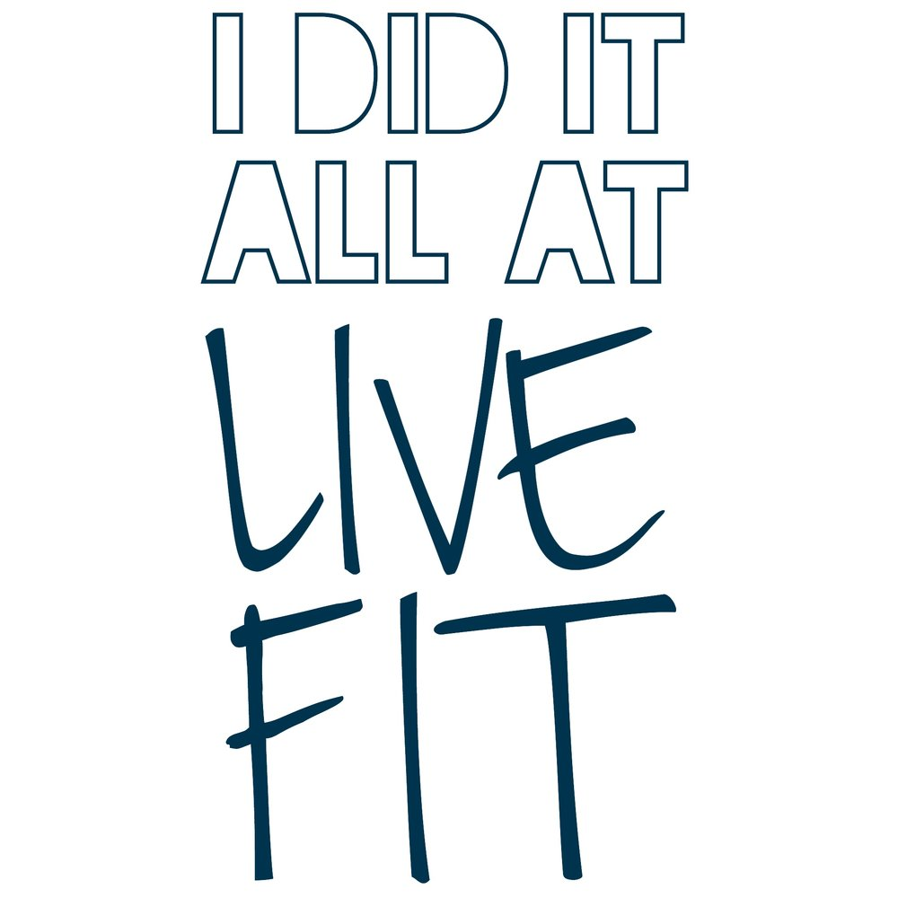 Live Fit is your one stop shop for many different types of Personal Training. We offer everything from private pilates reformer to sport specific athletic training and everything in between.