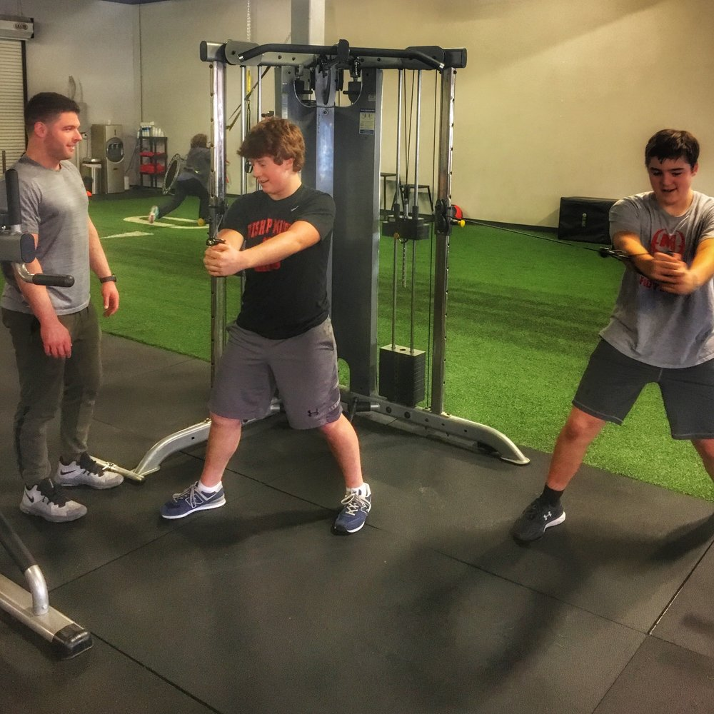 Live Fit is happy to offer Sports Specific Personal Training. Start Preparing NOW for Spring High School Sports.