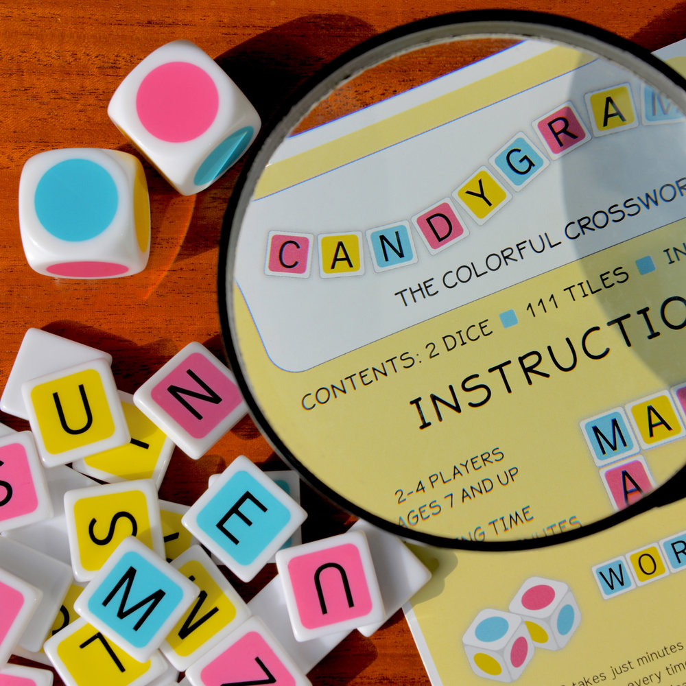 With two different but equally fun and exciting ways to play, Standard and Express, Candygrams offers endless wordplay for the entire family.