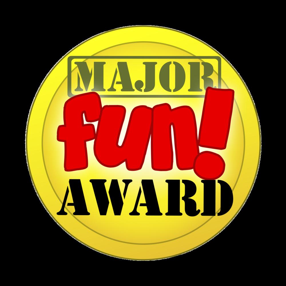 CANDYGRAMS wins the  MAJOR FUN  AWARD!