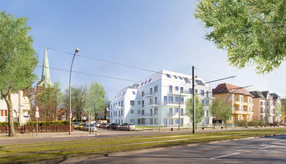 25 Eigentumswohnungen in Karlshorst.