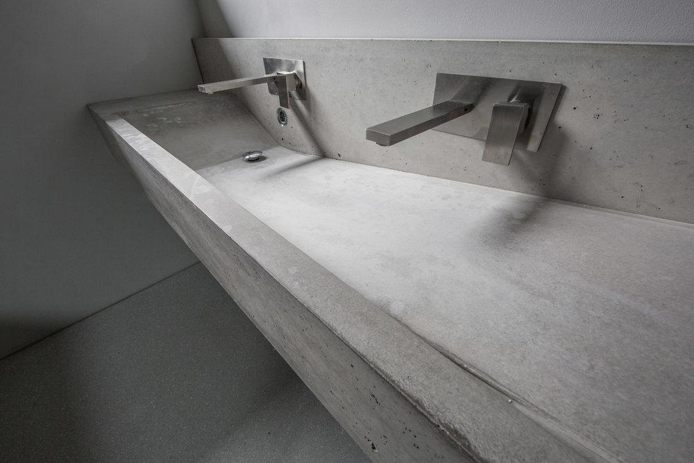 Betonwaschbecken
