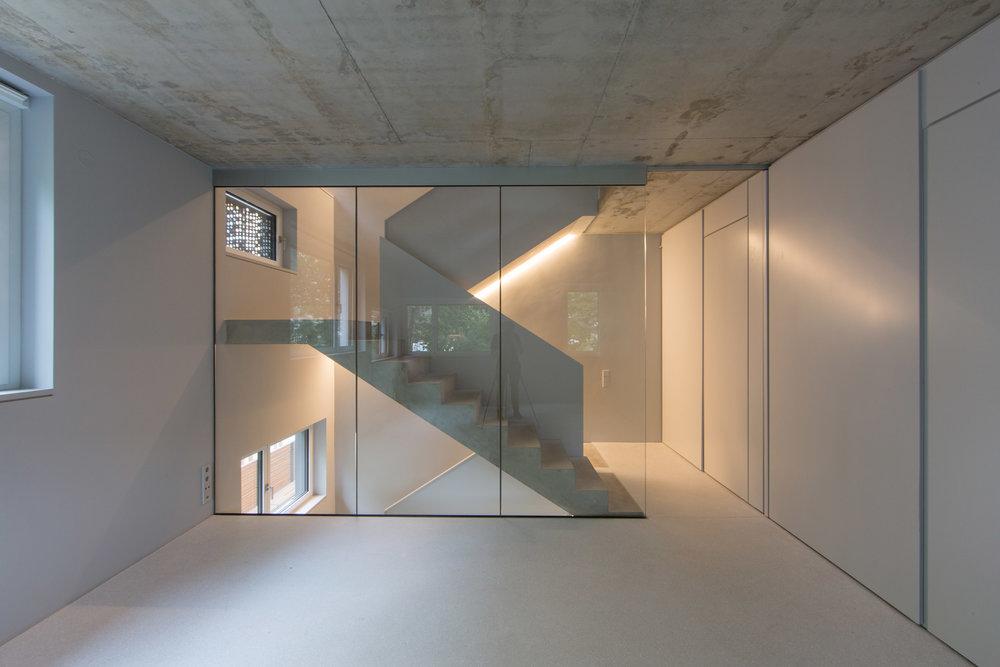 Treppenskulptur