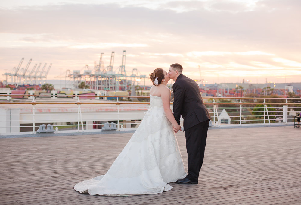 Sarah + Andrew |The Queen Mary, Long Beach, CA - Thanks for all the great work youhave done. We are so impressed. You are sotalented. We can't wait to show these off  toour family and friends.   Everyone wants toknow who took my pictures.