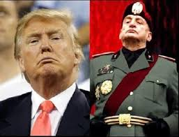 The Great Dictator is the pillock on the left. The one on the right is still trying to form a government. -