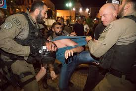 Israeli police arrest Gaza protestors in Haifa -