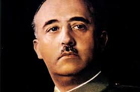 Franco. The repulsive dictator who ruled Spain with an iron fist - and the helping hand of the Catholic church. -