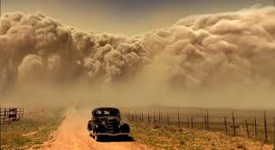 Startling image of the 1934 dustbowl drought and heat. -