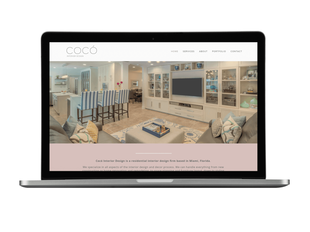 Interior Design Website by Christy Price