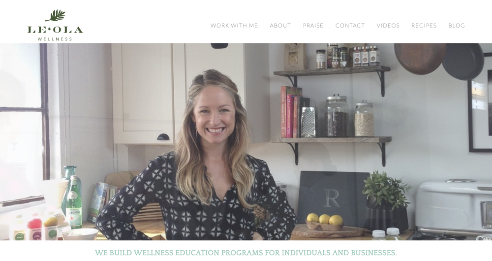 Maia Hariton Squarespace Website Designer and Developer - Leola Wellness.png