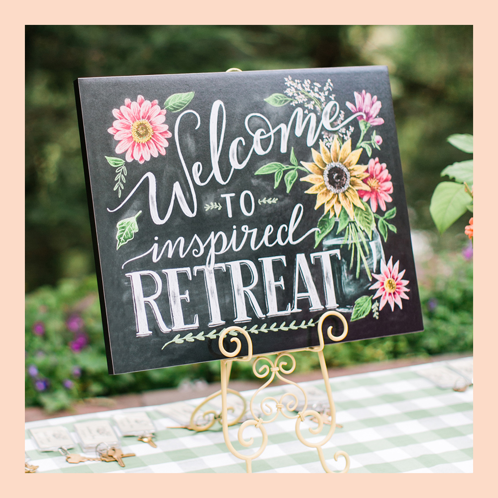 inspired retreat conference for female entrepreneurs