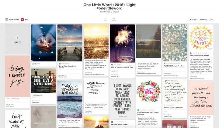 One Little Word Light