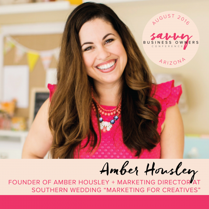Amber Housley Savvy Business Owners Conference