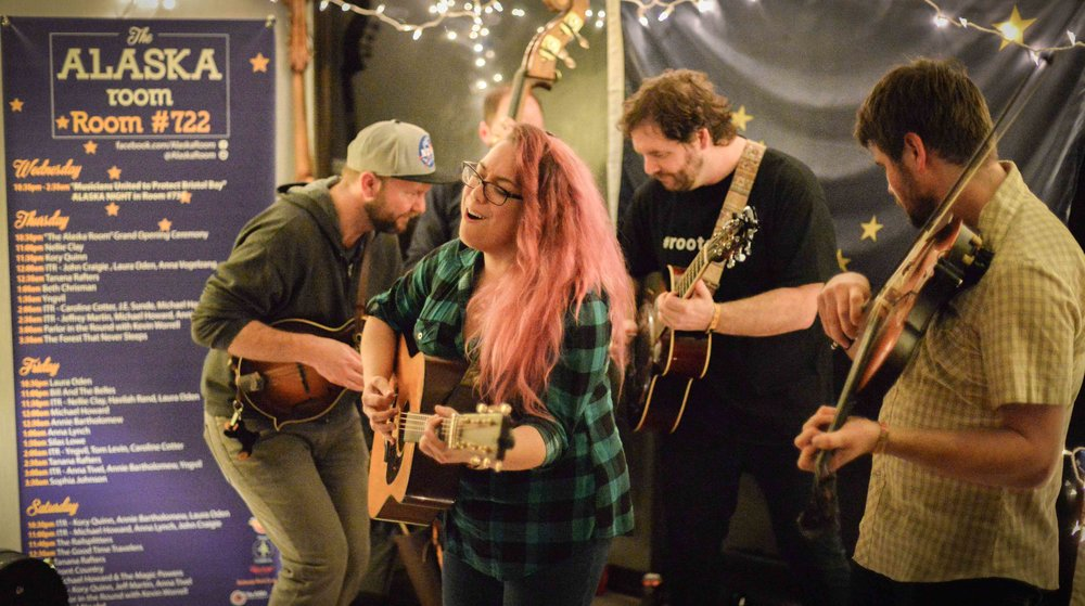 Front Country in the Alaska Room at FAI 2017