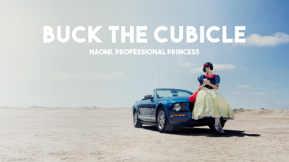 Buck The Cubicle | Professional Princess | P2 Photo + Video