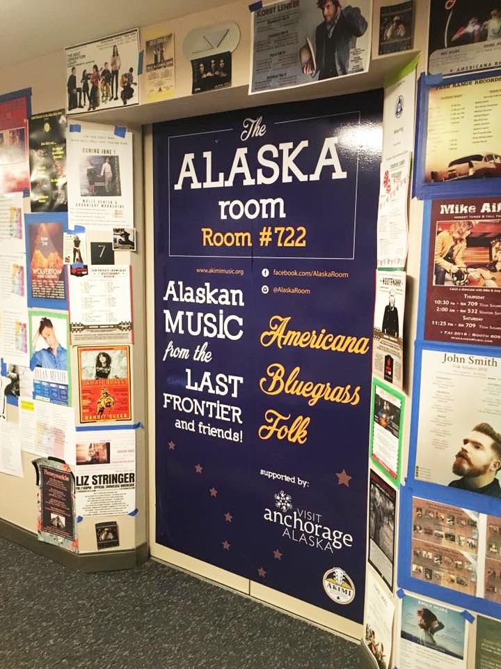 The Alaska Room elevator skin provided by VisitAnchorage. Photo: Michael Thomas Howard