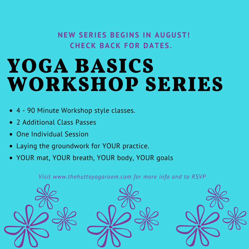 Beginners Yoga Series — The Hutto Yoga Room