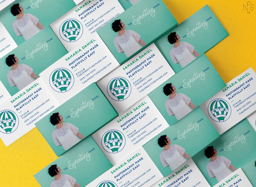 The Sprouting Image Brand and Web Design by No Fonts Given Co | Lindsay Goldner