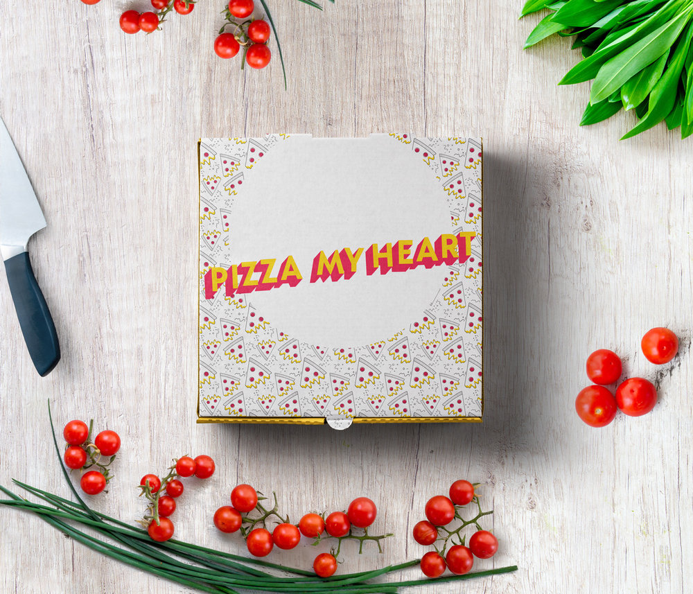 Pizza pattern by No Fonts Given Co