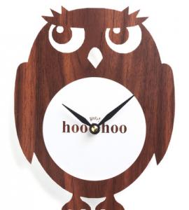 owl clock modcloth