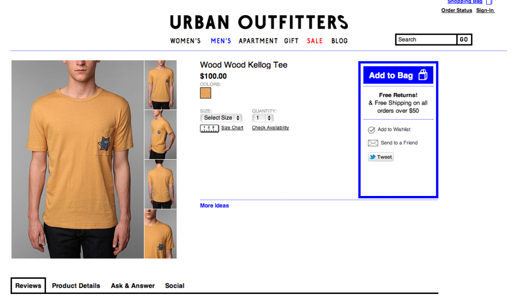 urban outfitters anti-semitism shirt