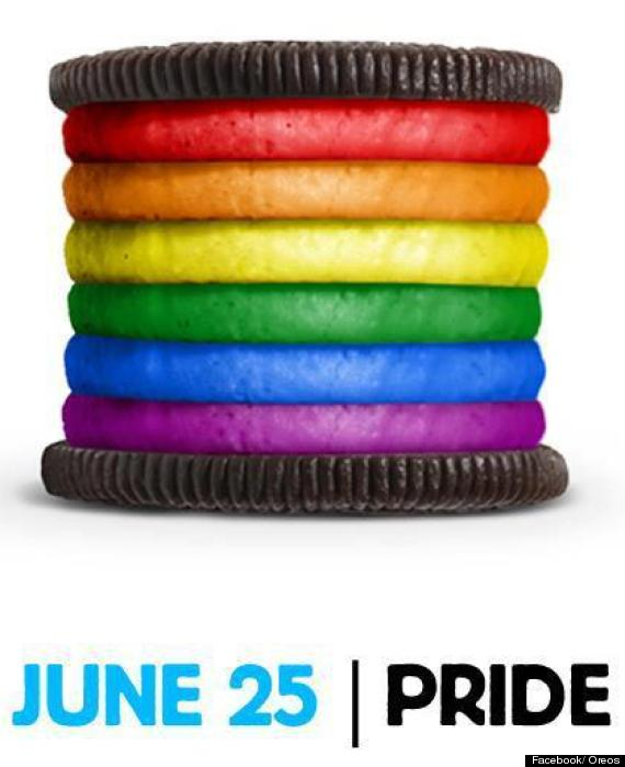 Oreo gay pride month image