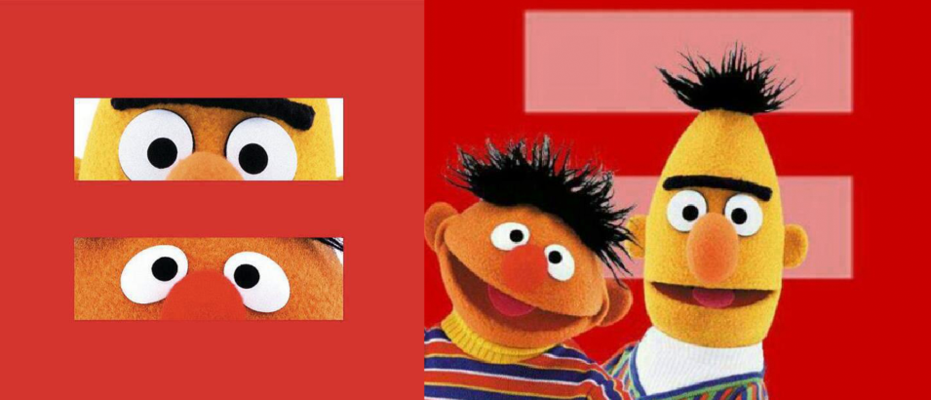 bert and ernie equality via million puppet march