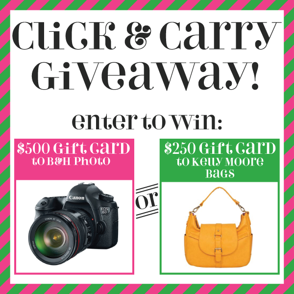 Click and Carry Giveaway via Linz Loves You