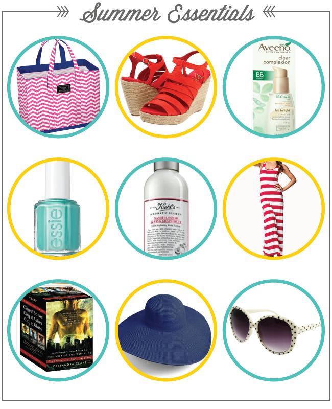Summer Essentials via LinzLovesYou