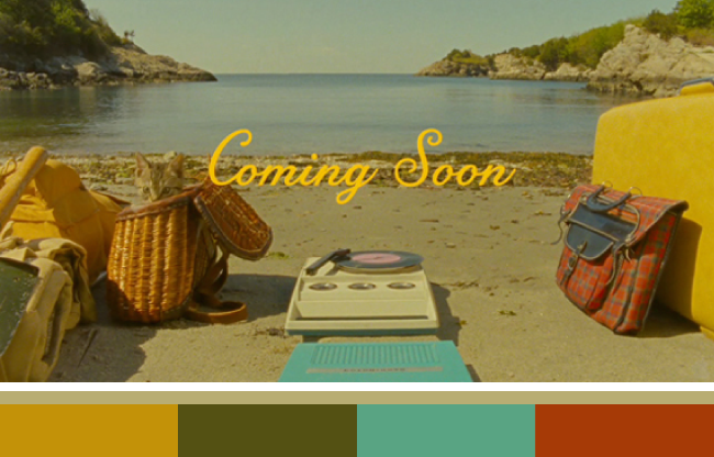 Moonrise Kingdom Palette via Linz Loves You