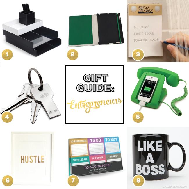 Gift guide for entrepreneurs via Linz Loves You