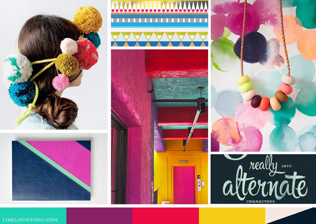ACE Moodboard by Lindsay Goldner Creative