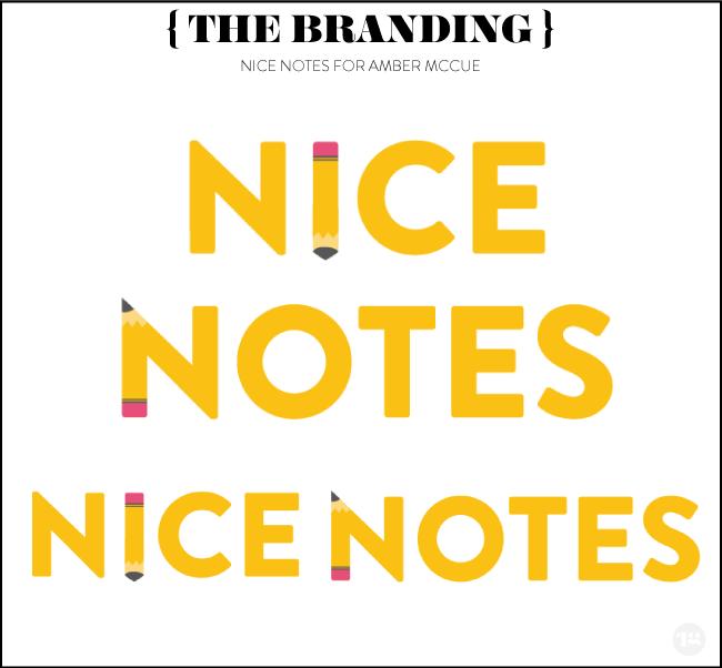 Nice Notes by Lindsay Goldner