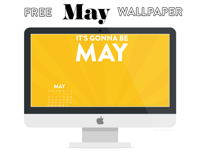 May 2014 Wallpaper by Lindsay Goldner