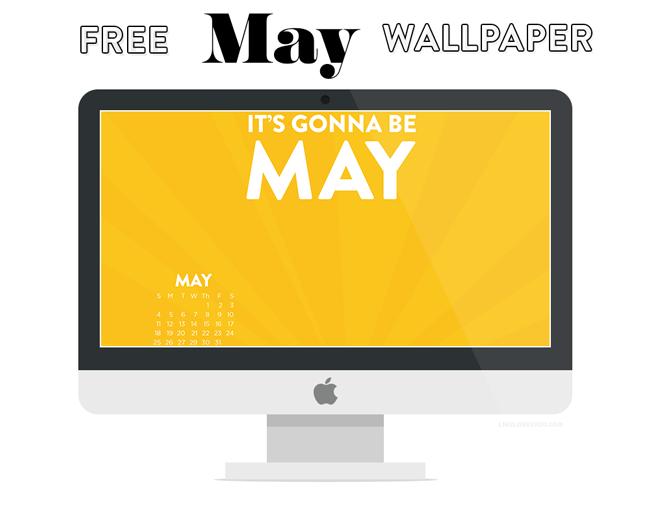 May 2014 Wallpaper by Lindsay Goldner