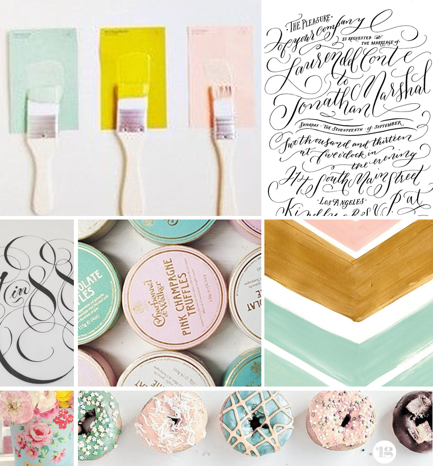 Pastel & Feminine Moodboard via Lindsay Goldner