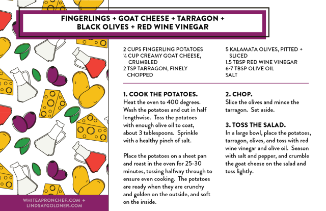 Summer salad recipes PDF // Lindsay Goldner Creative + White Apron Chef