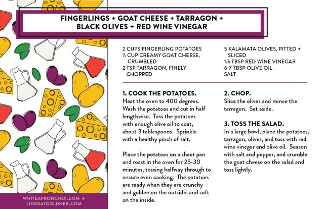 Summer salad recipes PDF // Lindsay Goldner Creative + White Apron Chef
