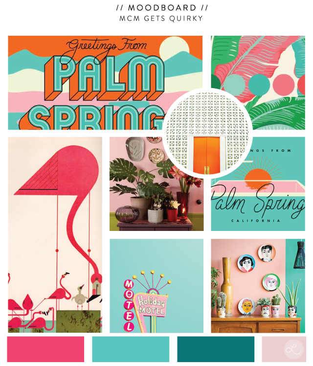 Lindsay Goldner Creative: Mid Century Gets Quirky