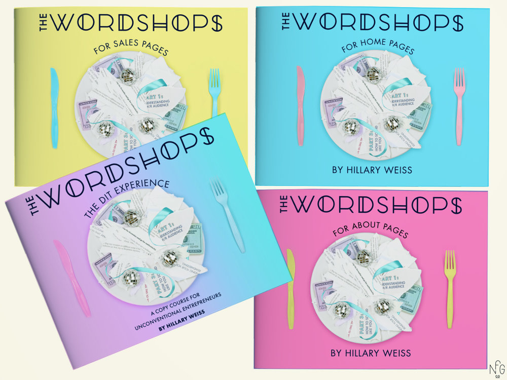 Wordshops Design and Branding | No Fonts Given Co