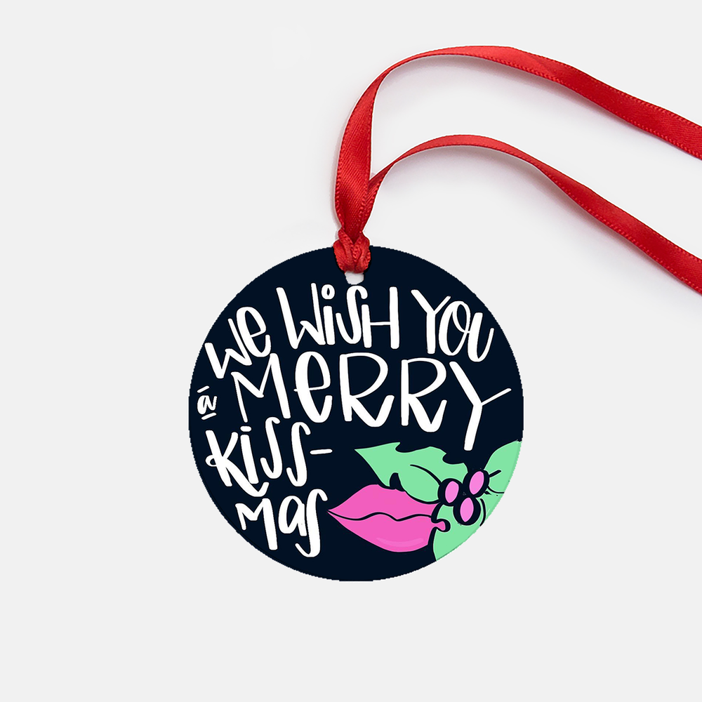 Ornament Lettering Pun | No Fonts Given Co