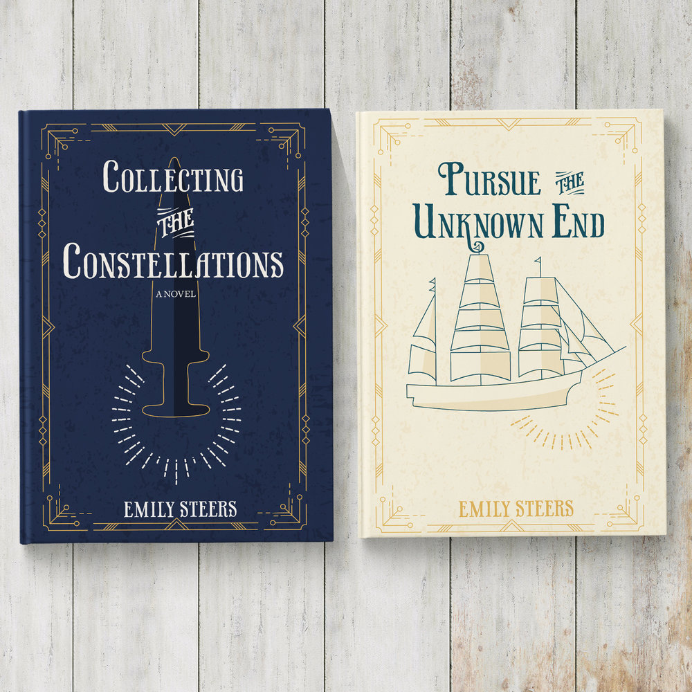 Book Covers for Author Emily Steers   Art Direction, Illustration, Design   VIEW PROJECT