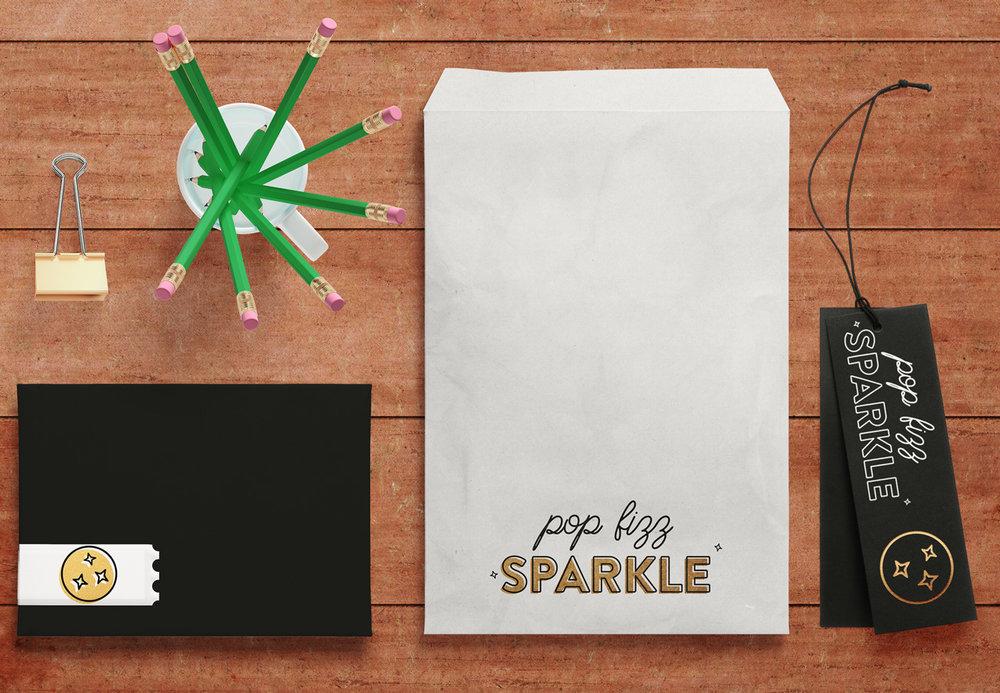 Pop Fizz Sparkle | No Fonts Given