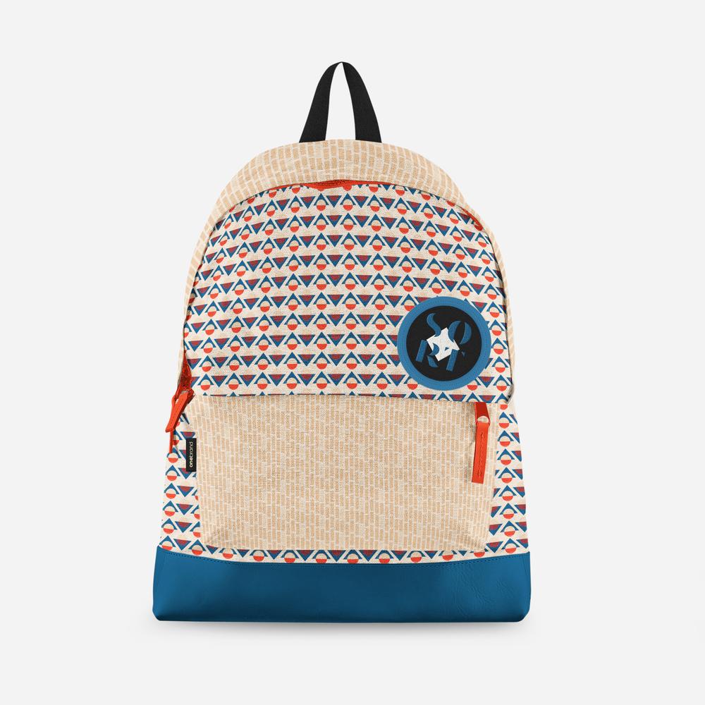 Sort backpack pattern mock   No Fonts Given Co