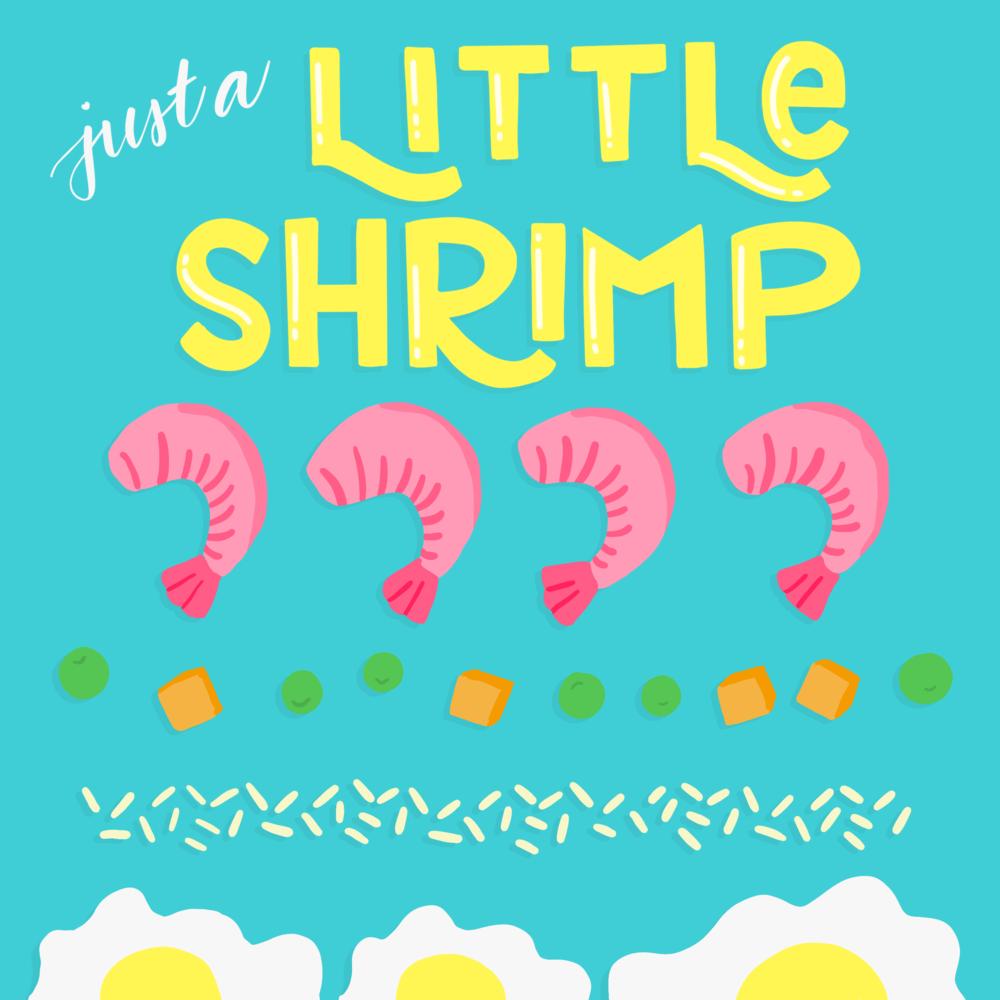 Little Shrimp #100daysoftastytreats by Lindsay Goldner | No Fonts Given Co