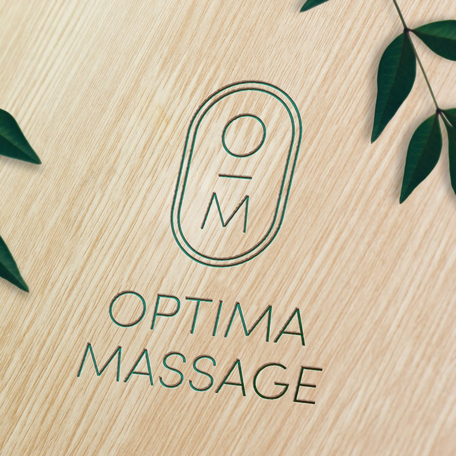 Optima Massage Branding