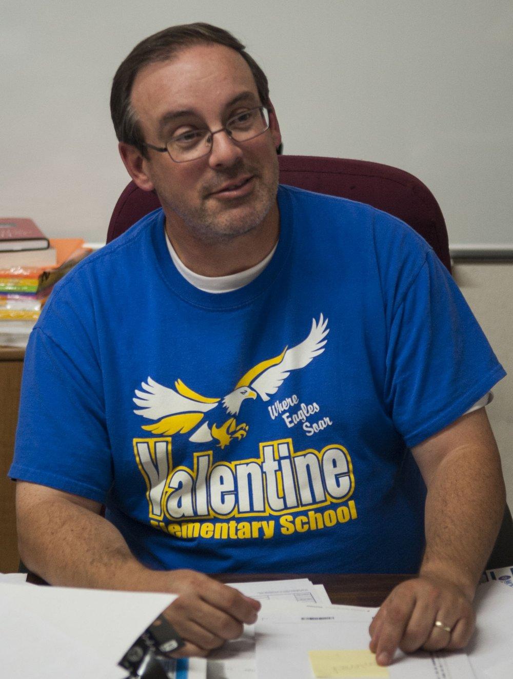 Valentine Elementary Superintendent    Mr. Angle