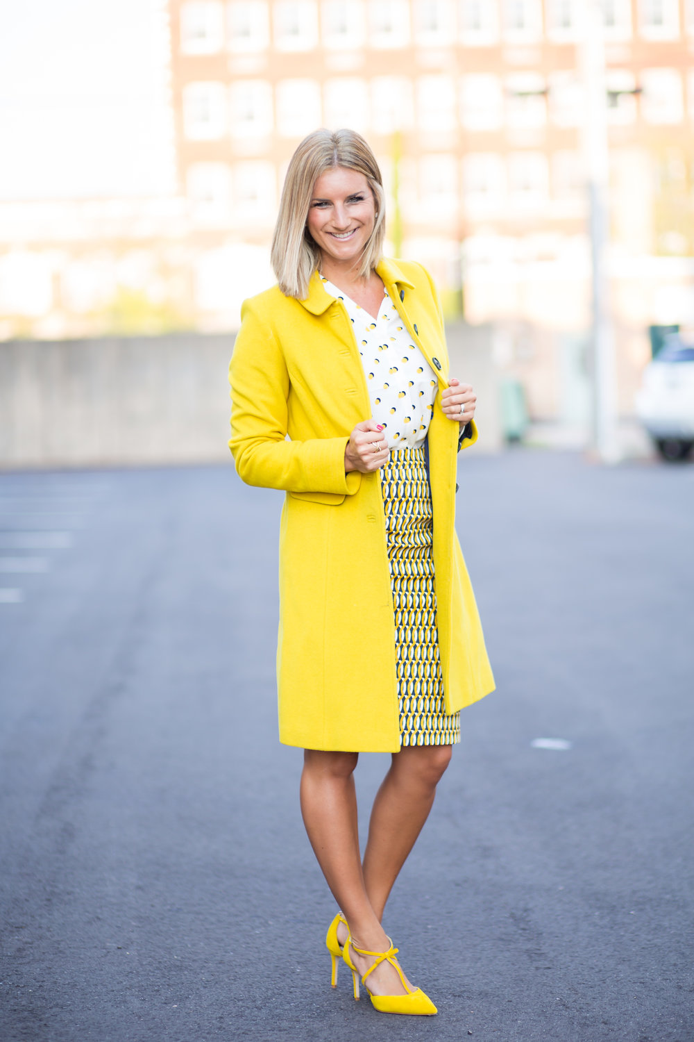 Yellow Boden Coat