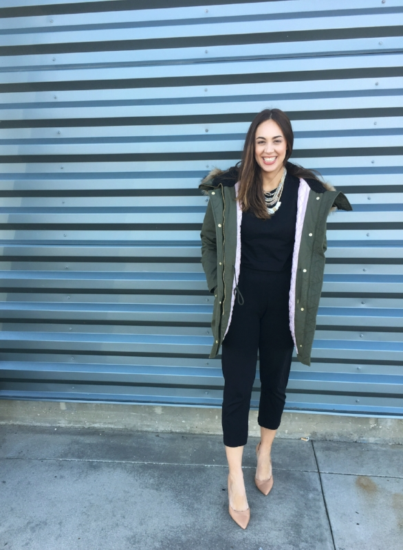 Two Easy Ways To Wear A Black Jumpsuit Paired Style